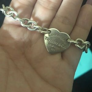 Tiffany & Co authentic heart tag bracelet